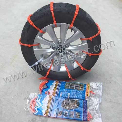 Self-Locking Type and Nylon Material Car Tire Anti-slip cable tie