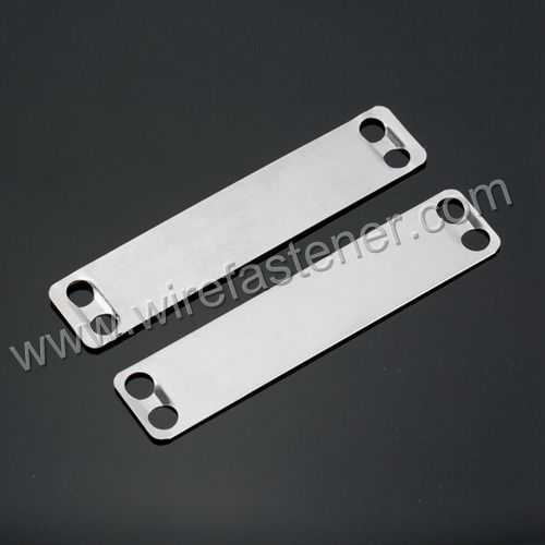 19mm*89mm  Stainless steel  Marker plate