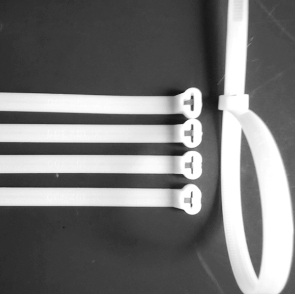 Nylon Cable Ties-Stainless steel Barb lock