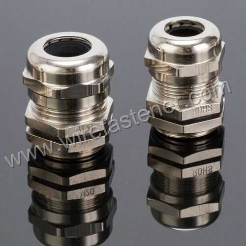 M12 Waterproof Brass Cable Gland