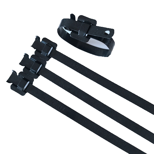 Coated Releasable Stainless Steel Cable Tie
