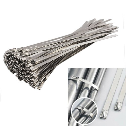 Sell well fire resistance weather resistance self-locking stainless steel cable tie