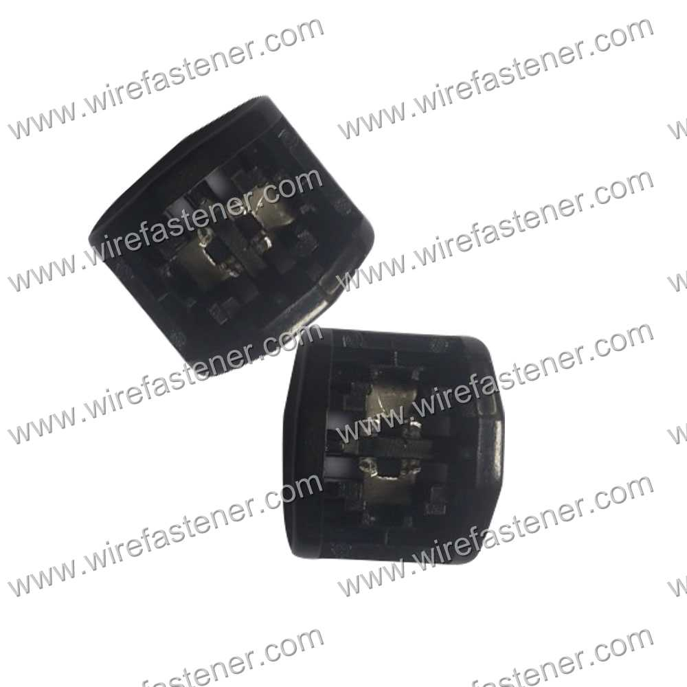 Double locking Heads 12.7 mm plastic buckle